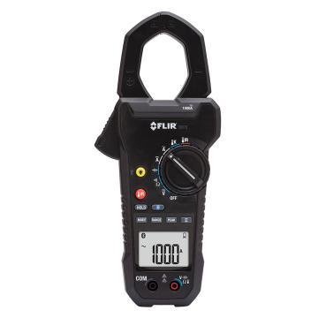 菲力尔 温度数字钳形表,FLIR 工业级1000A数字钳形表,内置红外测温仪功能