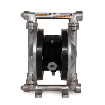 """固德牌/GODO QBY3-10PFFF 3/8""""金属壳体气动隔膜泵"""