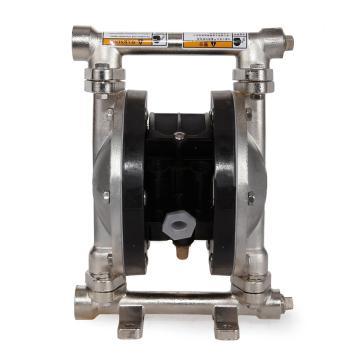 """固德牌/GODO QBY3-10LFFF 3/8""""金属壳体气动隔膜泵"""