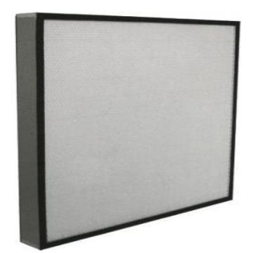 板式中效空气过滤器,宾优,BN-PF7-505*665*250,过滤效率F7,耐高温250℃