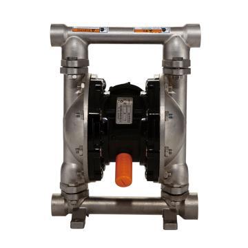 """固德牌/GODO QBY3-20PFFF 3/4""""金属壳体气动隔膜泵"""