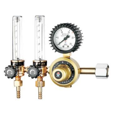 日出双管减压器,758A-25(ArR-03K-A),适用气体:氩气,输入压力:15Mpa