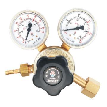 日出大武士减压器,881-Ar25(ArR-A81),适用气体:氩气、二氧化碳,输入压力:15Mpa