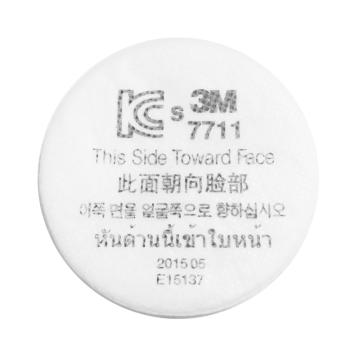 3M 7711预过滤棉,50片/包