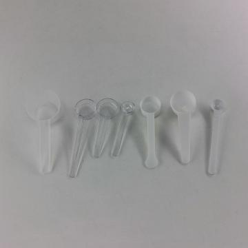 塑料定量勺,圆头平底,白色,104×35×30mm,9g,PP,50个/包