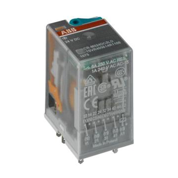 ABB 中间继电器,CR-M024DC2L