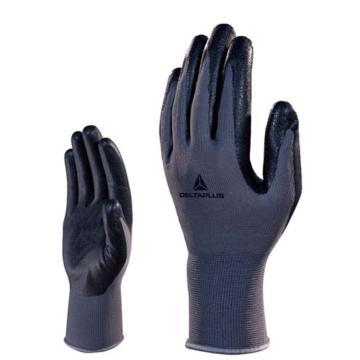 代尔塔DELTAPLUS 丁腈涂层手套,201723-8,舒适型丁腈发泡手套
