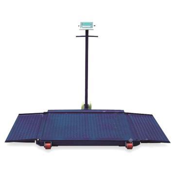 可移动带坡式平台秤1500kg/0.5kg(秤台1000×1000mm)
