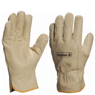 代尔塔 204159-9皮革手套, 全猪皮手套