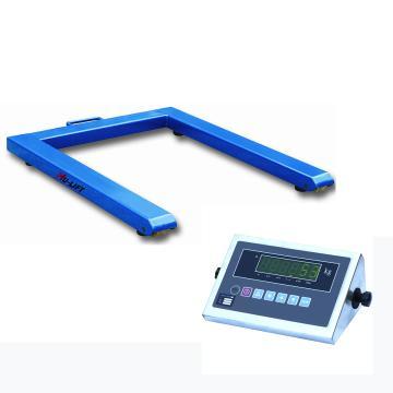 U型平台秤,额定称重量(kg):1000,最小称量(kg):10