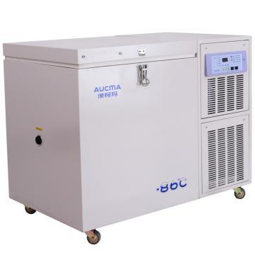 超低温保存箱,澳柯玛,DW-86W300Y,有效容积:300L,箱内温度:-40~-86℃,内部尺寸:804x593x629mm