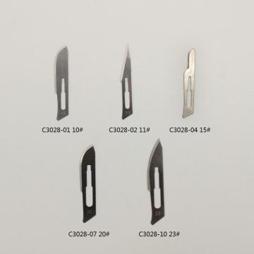 10号碳钢手术刀片,碳素钢,100片/箱