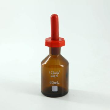 英式棕色滴瓶,60ml,12个/盒