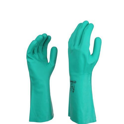 代尔塔 201802-8 丁腈高性能防化手套