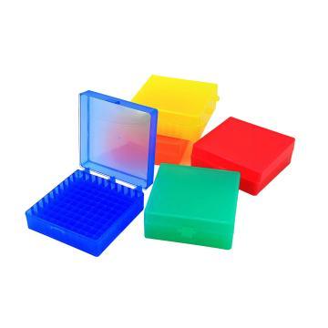 100孔冷冻盒,适用1.5/2.0ml冻存管,5个/包