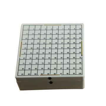 PC冷冻盒,适合存放1-2ml,100孔,4个/包