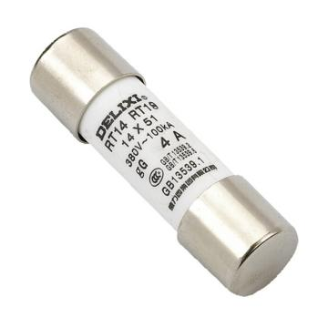 德力西 熔芯,RT14(RT18 RT19) 20A Φ14X51,RT141819M1451T20停产