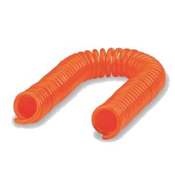 亚德客AirTAC PU螺旋气管,Φ12×Φ8×15M,橙色,无接头,UCS120080GE150MA1