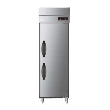 304不锈钢立式二门冷藏商用冰箱,海尔,SL-490C2W,490L
