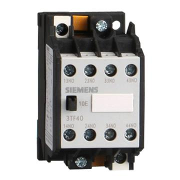 西门子 直流线圈接触器,3TF40221XB4
