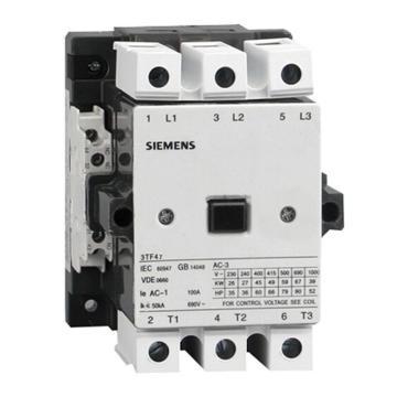 西门子 直流线圈接触器,3TF47221XB4