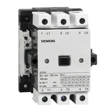 西门子 直流线圈接触器,3TF49221XB4