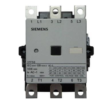 西门子 直流线圈接触器,3TF50221XB4