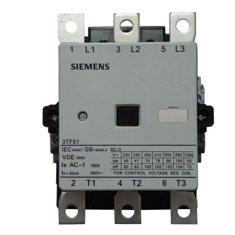 西门子 直流线圈接触器,3TF51221XB4