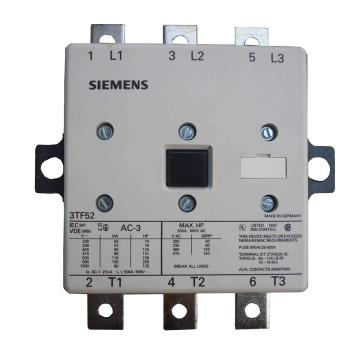 西门子 直流线圈接触器,3TF52221XM4
