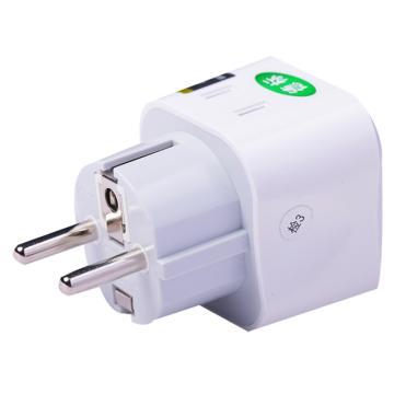 公牛旅行转换器 GN-L01G 德标 防触电门保护