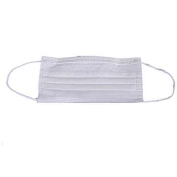 华涌 一次性三层无纺布口罩,白色,100只/盒