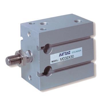 亚德客AirTAC MD多位置固定型气缸,双作用,MD6X10-S