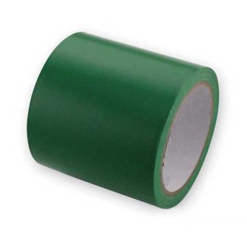 地板划线胶带(绿)-高性能自粘性PVC材料,绿色,100mm×22m,14335