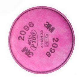 3M 2096CN P100 / 酸性气体异味颗粒物滤棉,2片/包