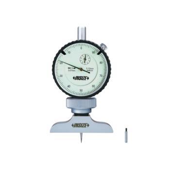 INSIZE 带表深度尺,0-10mm,2341-101A