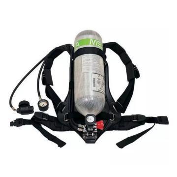 MSA 10167765 AX2100 标准空气呼吸器,6.8L BTIC气瓶带表(快插接口)