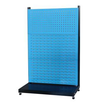 信高 固定型单面物料架(1方孔2百叶),960*375*1515mm,KR-1312,散件发货,安装费另询