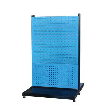 信高 固定型双面物料架(2方孔4百叶),960*630*1515mm,KR-2324,散件发货,安装费另询
