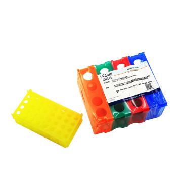 多功能离心管架,可存4支50ml、12支15ml、32支1.5ml或0.5ml,随机色,1个