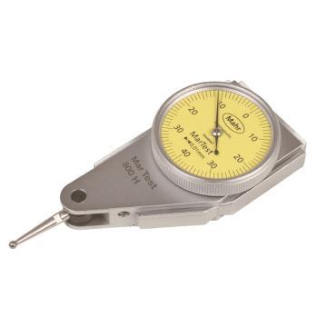 马尔杠杆千分表, 侧面表盘水平型(0.01mm;±0.4mm),4303200