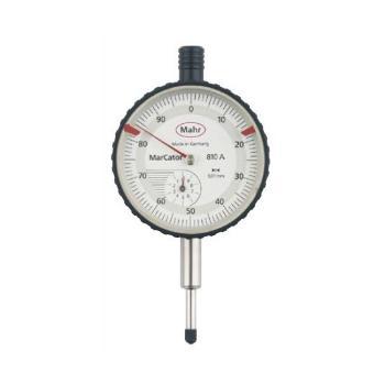 马尔机械式百分表,810A系列 0-10mm*0.01,4311050