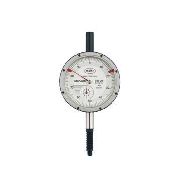 马尔百分表,10mm 防震防水防油IP54级,4315000