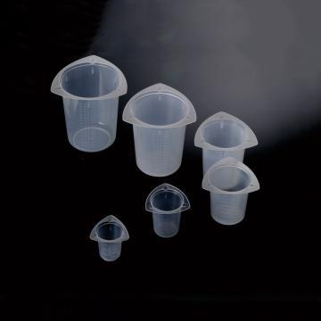 聚丙烯三角量杯,10-100ml,25个/袋