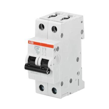 ABB 微型断路器 S202M 2P 10A C型 S202M-C10DC 直流