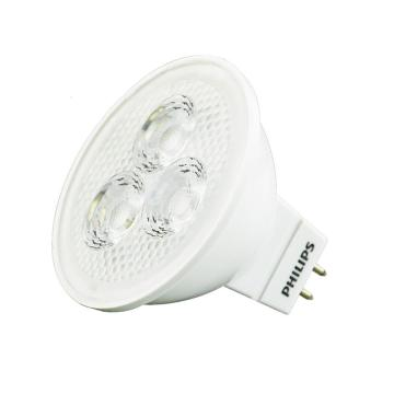 飞利浦 3W LED MR16射灯光源12V 24度 GU5.3暖光 黄光,整箱,10个每箱,单位:箱