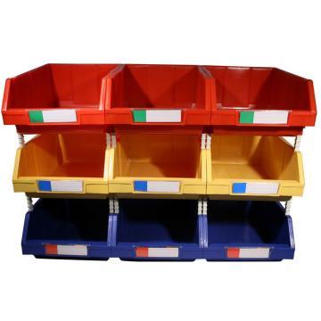组立零件盒PK-001-红色,100*160*74,50/箱