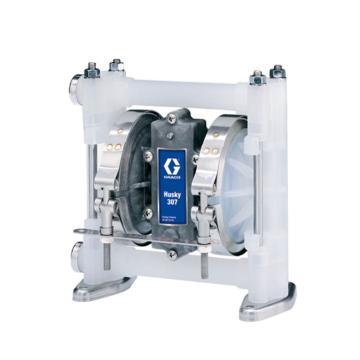 """固瑞克/Graco D32911 3/8""""非金属壳体气动隔膜泵"""