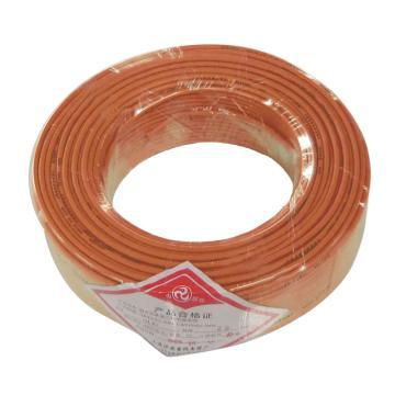 沪安 BVR线,单芯软电线,BVR-2.5mm² 红 95m/卷