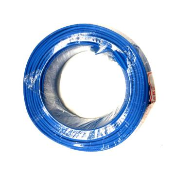 沪安 BV线,单芯电线,BV-4mm² 蓝 95m/卷