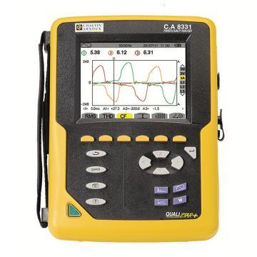 CHAUVIN ARNOUX/CA C.A 8331三相电能质量分析仪,谐波可测,无钳头